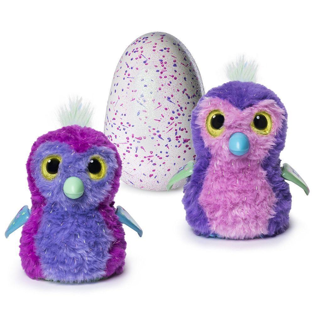 Интерактивные игрушки в яйце хетчималс